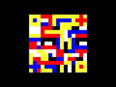 RBYK Skull tetris grid system lego skull rbyk