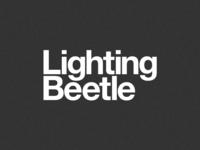 Lighting Beetle in Helvetica