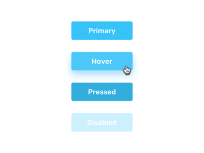 Yaps – Primary button states color hover states button meta yaps