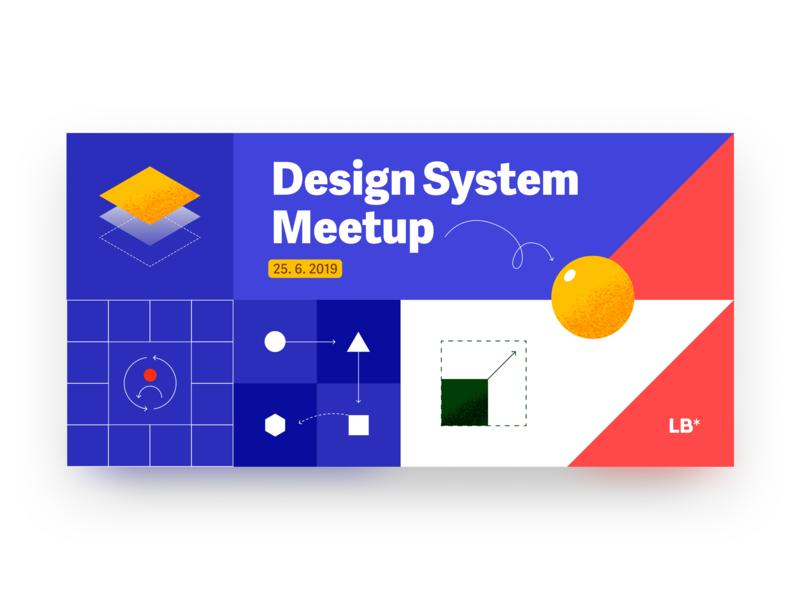 Design System Meetup #01 cover event meetup designsystem bratislava slovakia