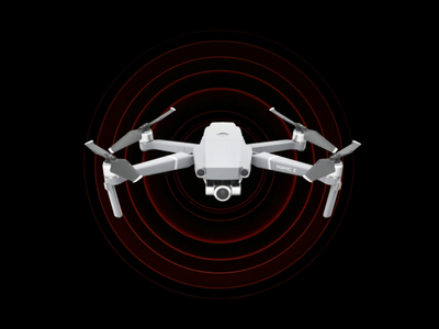 Drone animation futuristic motion motion graphics website presentation video drones tech red future animation drone