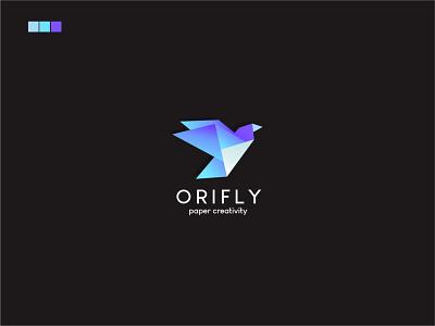 Origami Bird Logo ui branding logo illustrator vector logoapp logotype logodesign graphicdesign design bird logo origami