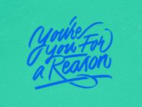 Keep bein' you mural brush type brush pen brush lettering cursive design calligraphy font script hand lettering lettering typography type