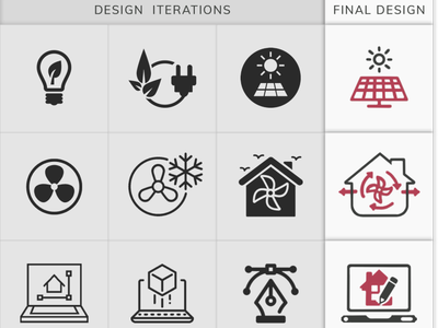 Iconography- Universal Services Icons Design Iterations homepage ui web iconography icon design illustration animation ux ui graphic design design