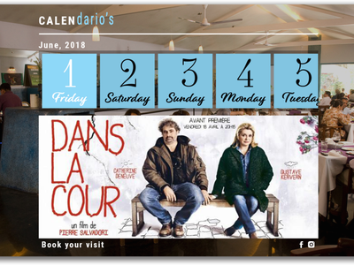 Interactive Calendar Design branding website illustrator illustration ux ui graphic design design