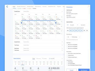 Quick Manage on Dashboard dashboard saas website saas productdesign user interface ui design webdesign design booking travel ux ui