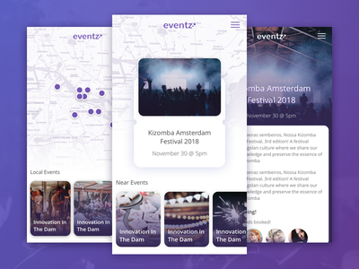 Events Mobile App event app app booking concerts travel tickets uxdesign uidesign product design mobile ios interface concert tickets events