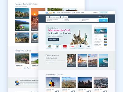 Travel Landing Page trip planner traveling tour ui design webdesign design booking ux travel ui
