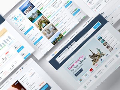 Travel Project landing user interface ui design trip webdesign design booking travel ux ui