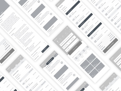 Wireframe trip ios ios app mobile design ux app booking travel wireframe