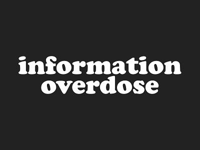 Logo Design - information overdose cooper black black and white logo logo