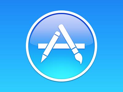 App Store Icon app store appstore apple icon icns