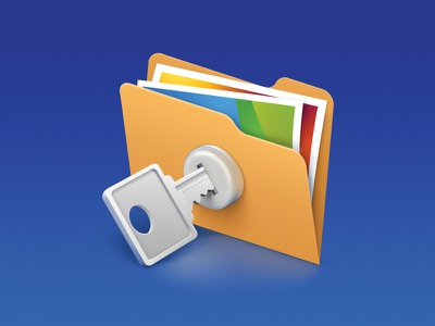 Secured folder icon key folder secured secure android ios icons icon