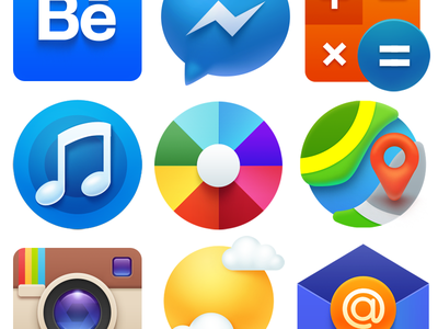 Icons calc pin maps themes instagram music mailru mail colour ampeross icons icon