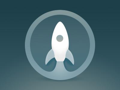 Launchpad Icon dark rocket tuts icon launchpad