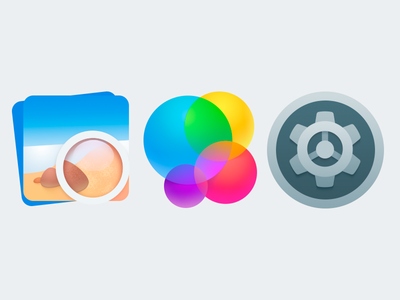 Some icons for OS X settings tuts game center icons apple mac osx
