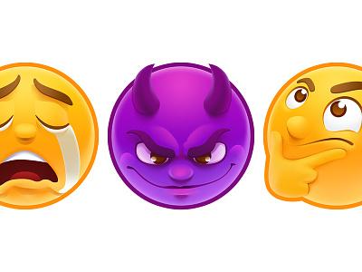 Stickers emojis smiles smile pack sticker stickers