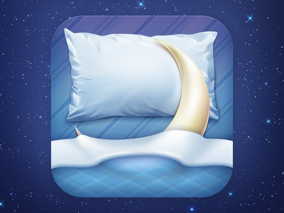 Nights Keeper  icon night stars moon bed pillow blue