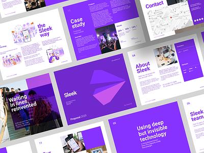 Layout Design - Business Proposal brand design typogaphy branding print design