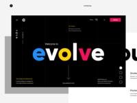 Evolve - Landing Page