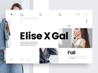 Fashion & Lifestyle Blog UI