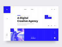 Creative Agency - Landing Page