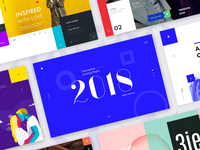 Conceptual Landing Pages 2018