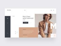 Mon Cheri Fashion Store - Product detail page