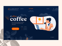 Le Matin - Landing page