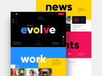 Branding Agency - Home Page