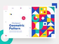 Haus of Patterns - Montessori Geometric Pattern