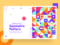Haus of Patterns - Radioactive Geometric Pattern
