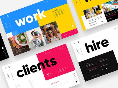 Evolve Creative Design - Landing Page typedesign type typogaphy ui ux web web design webdesign website