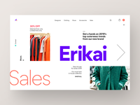 Fashion Store - Landing Page