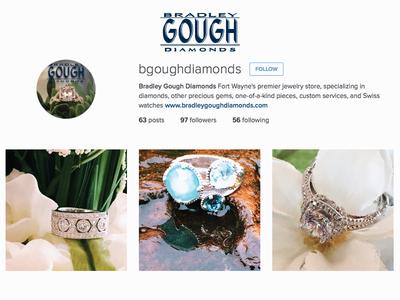 Instagram for Bradley Gough Diamonds