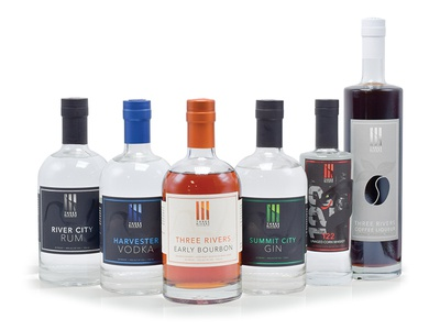 Three Rivers Distillery Bottle Collection