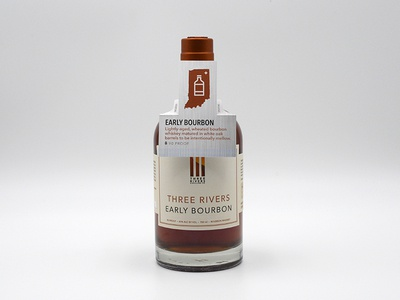 Three Rivers Distilling Co. Bottle Hangtags
