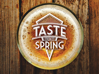 Taste of Spring Event Logo