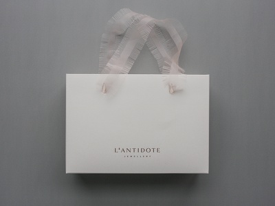 L'ANTIDOTE / PACKAGING (2018) drop symbol artdirection packaging concept fashion identity logotype branding brand typography