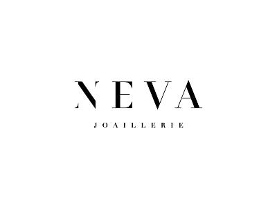 NEVA JOAILLERIE bratislava paris oslo joaillerie jewellery typography fashion identity logotype