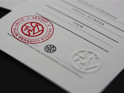 Skvost // packaging paper identity embossing stamp jewelry jewellery certificate