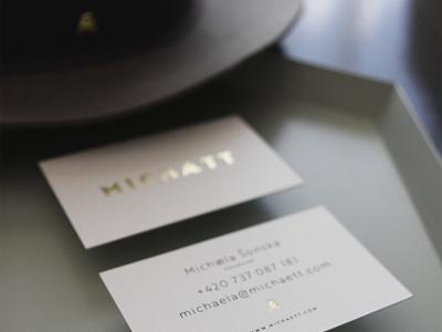 MICHAETT // Modest Haettery hats modest concept naming fashion logotyp identity branding
