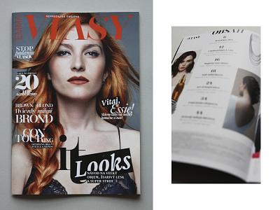 EMMA MAGAZINE hair visualidentity system typography artdirection fashionmagazine design editorial magazine