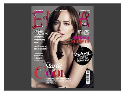 EMMA MAGAZINE visualidentity system typography artdirection fashionmagazine design editorial magazine magazinecover cover coverdesign
