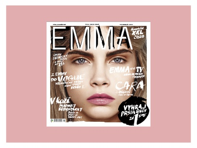 EMMA MAGAZINE special edition cover visualidentity system typography artdirection fashionmagazine design editorial magazine magazinecover cover coverdesign