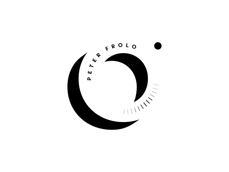 Frolo / Photographer icon symbl contrast lens eyeslit viewthrough logotype identity brand photographer