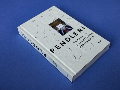 PENDLERI / novel bookcover hotstamping typography topography migration train traveller novel book design bookdesign