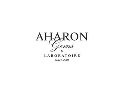 AHARON identity jewellerybrand logo typography branding jewellery logotype brand identity