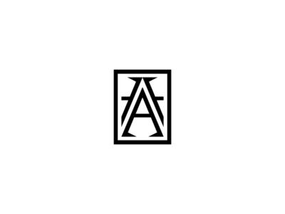 AHARON a logo identity concept fashion jewellery logotype branding monogram typography