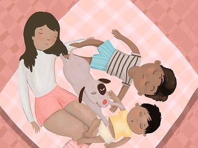Why sleep is important editorial illustration illustraion sleeping sleep